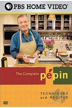Complete Pepin - Techniques & Recipes DVD Cover Art
