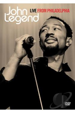 John Legend - Live From Philadelphia DVD Cover Art