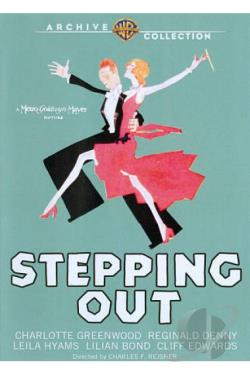 Stepping Out DVD Cover Art