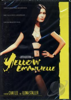 Yellow Emanuelle DVD Cover Art