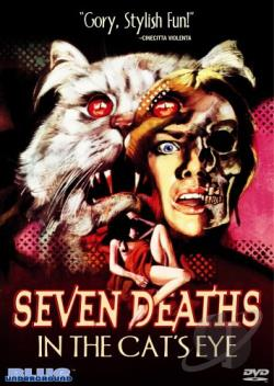 Seven Deaths in the Cat's Eye DVD Cover Art