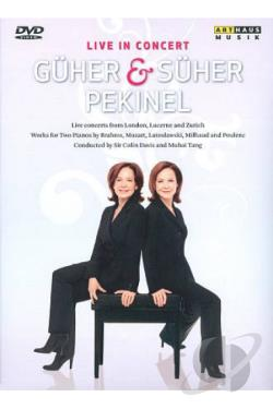 Guher and Suher Pekinel: Live in Concert DVD Cover Art