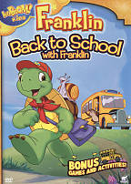Franklin: Back to School With Franklin DVD Cover Art