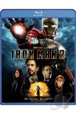 Iron Man 2 BRAY Cover Art
