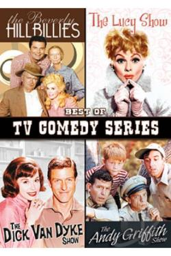 Best of TV Comedy Series DVD Cover Art