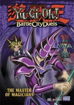 Yu-Gi-Oh: Battle City Duels - Vol. 4: The Master Of Magicians DVD Cover Art