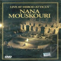 Nana Mouskouri - Live at Herod Atticus DVD Cover Art