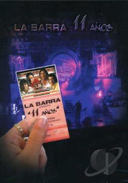 Barra: 11 Anos DVD Cover Art
