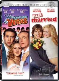 Honeymoon in Vegas/Just Married - Double Feature DVD Cover Art