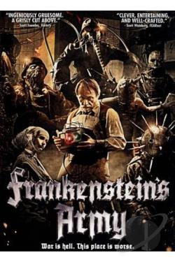 Frankenstein's Army DVD Cover Art