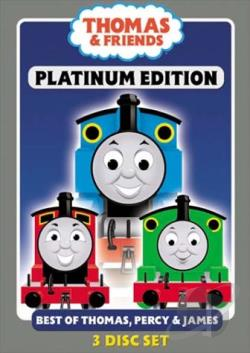 Thomas & Friends - Platinum Edition DVD Cover Art