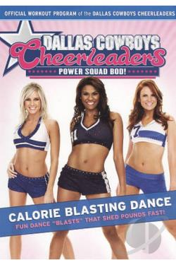 Dallas Cowboys Cheerleaders: Power Squad Bod! - Calorie Blasting Dance DVD Cover Art