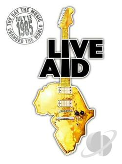 Live Aid DVD Cover Art