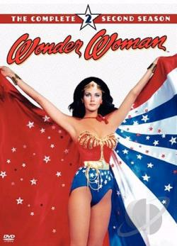 Wonder Woman - The Complete Second Season DVD Cover Art
