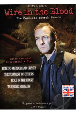 Wire in the Blood - The Complete Fourth Season DVD Cover Art