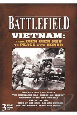 Battlefield Vietnam: From Dien Bien Phu to Peace with Honor DVD Cover Art