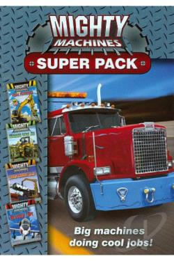 Mighty Machines: Super Pack DVD Cover Art
