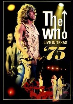 Who: Live in Houston, Texas 1975 DVD Cover Art