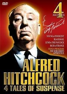 Alfred Hitchcock - Four Tales Of Suspense DVD Cover Art
