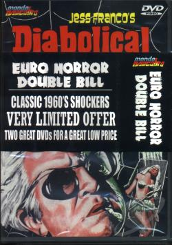 Euro Horror Double Bill DVD Cover Art
