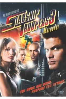Starship Troopers 3: Marauder DVD Cover Art