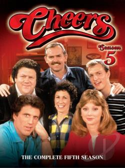 Cheers - The Complete Fifth Season DVD Cover Art