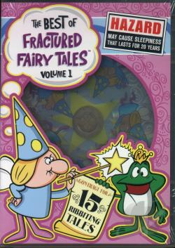 Best of Fractured Fairytales - Vol. 1 DVD Cover Art