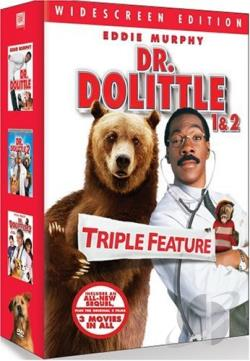 Dr. Dolittle Gift Set DVD Cover Art