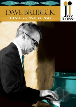 Dave Brubeck - Jazz Icons DVD Cover Art