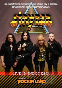 Stryper: Live in Indonesia at the Java Rockin' Land DVD Cover Art