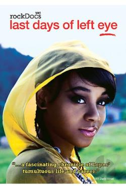 Last Days of Left Eye DVD Cover Art