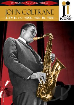 John Coltrane - Jazz Icons DVD Cover Art