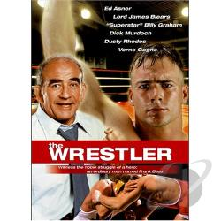 Wrestler DVD Cover Art