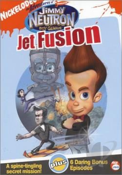 Adventures of Jimmy Neutron, Boy Genius - Jet Fusion DVD Cover Art