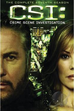 Csi: 7 Season Pack DVD Cover Art