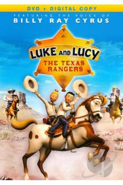 Luke and Lucy: The Texas Rangers DVD Cover Art