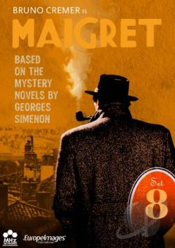 Maigret: Set 8 DVD Cover Art