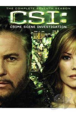 CSI: Crime Scene Investigation - The Complete Seventh Season DVD Cover Art