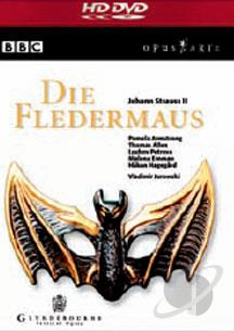 Johan Strauss II - Die Fledermaus HDDVD Cover Art