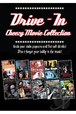 Drive-In Cheezy Movie Collection DVD Cover Art