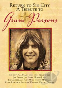 Return to Sin City - A Tribute to Gram Parsons DVD Cover Art