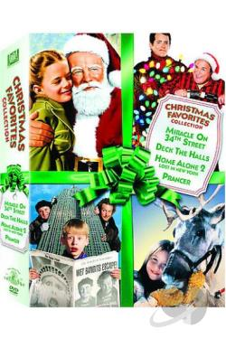 Christmas Favorites Collection DVD Cover Art