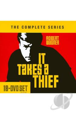 It Takes A Thief - The Complete Series DVD Cover Art