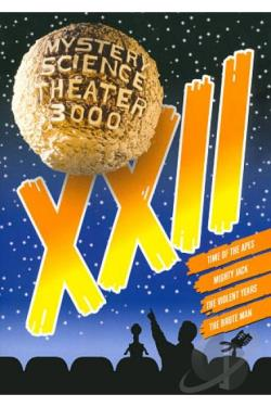 Mystery Science Theater 3000: XXII DVD Cover Art