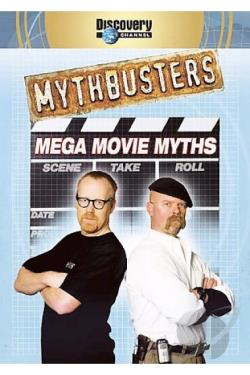 Mythbusters - Mega Movie Myths DVD Cover Art