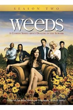 Weeds - The Complete Second Season DVD Cover Art
