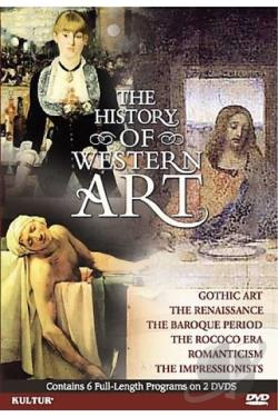 History of Western Art DVD Cover Art