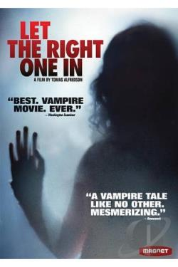 Let the Right One In DVD Cover Art