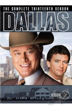 Dallas - The Complete Thirteenth Season DVD Cover Art