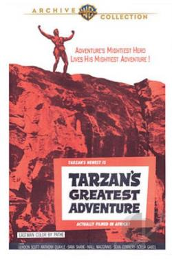 Tarzan's Greatest Adventure DVD Cover Art